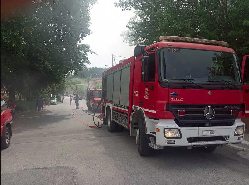 Πυρκαγιά σε οικία στην περιοχή Άβαντας Αλεξανδρούπολης