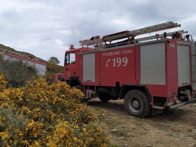Υπό έλεγχο η πυρκαγιά στην Κοκκάλα Μάνης