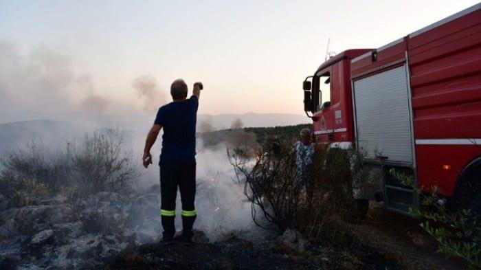 Πυρκαγιά στο Μεραμπέλλο Λασιθίου