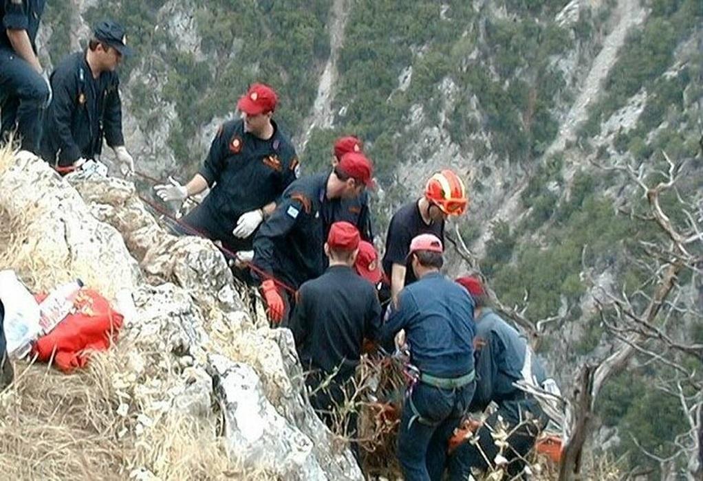 Ολοκληρώθηκε μεταφορά ενός τραυματισμένου ατόμου από το ορειβατικό Καταφύγιο Χρηστάκητης.