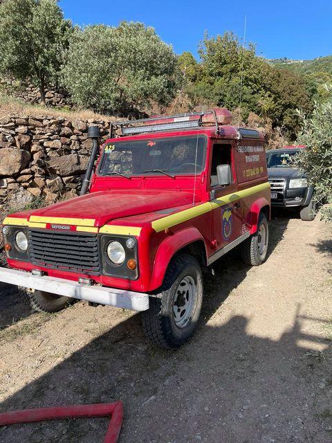 Πυρκαγιά στην περιοχή Καλόγερος Σπαθαραιων Σάμου (Φώτο)