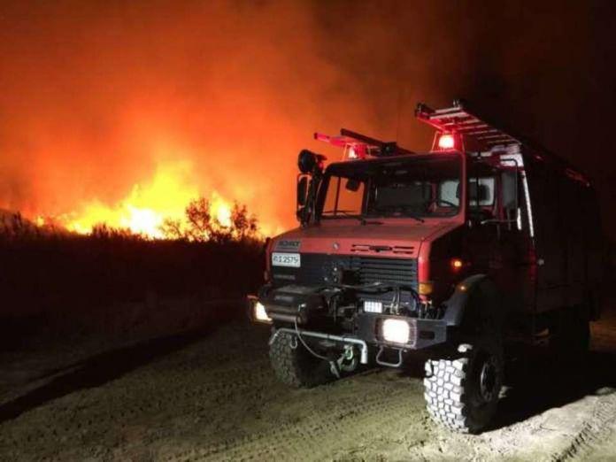Αχαΐα: Πυρκαγιά στα Σαγέϊκα – Απειλήθηκε κατοικημένη περιοχή