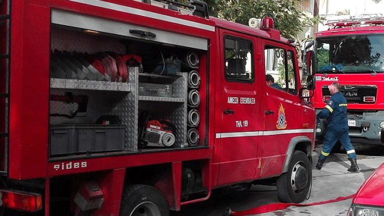 Τραγωδία στην Καβάλα: Νεκρός ηλικιωμένος μετά από πυρκαγιά στο σπίτι του