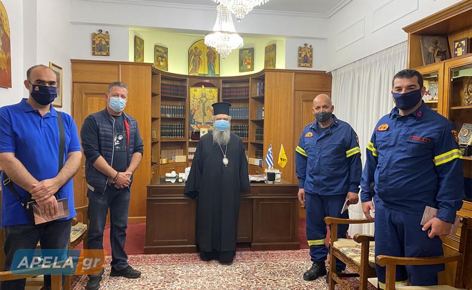 Πράξη αλληλεγγύης από τους πυροσβέστες της Λακωνίας και των Κυθήρων