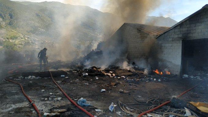 Πυρκαγιά σε αύλειο επαγγελματικό χώρο στη Ζίτσα Ηπείρου.