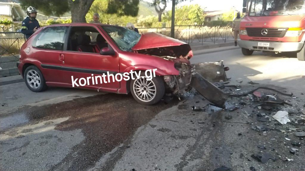 Τραγωδία στο Λουτράκι - Νεκρός 26χρονος οδηγός σε σοβαρό τροχαίο