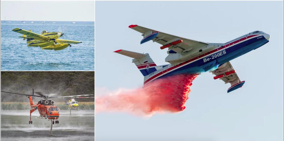 Αυτά είναι τα 29 εναέρια «όπλα» που μισθώθηκαν για φέτος - Ενισχύεται ο στόλος για την αντιμετώπιση των πυρκαγιών