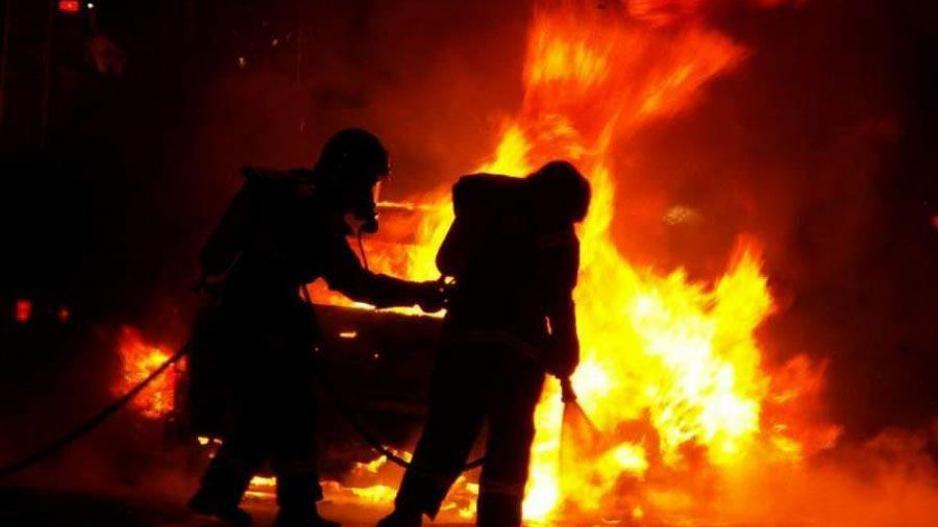 Θεσσαλονίκη: Πυρκαγιά σε όχημα τα ξημερώματα στη Μηχανιώνα