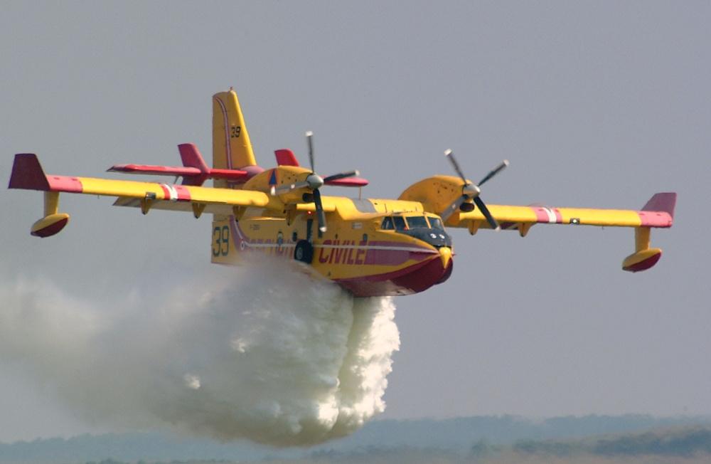 Πυρκαγιές: Οι ιπτάμενοι φύλακες-άγγελοι στις «κόκκινες» περιοχές
