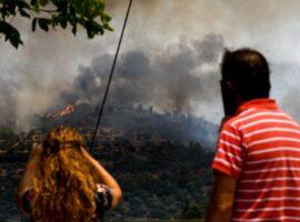23 Δασικές πυρκαγιές το τελευταίο 24ωρο
