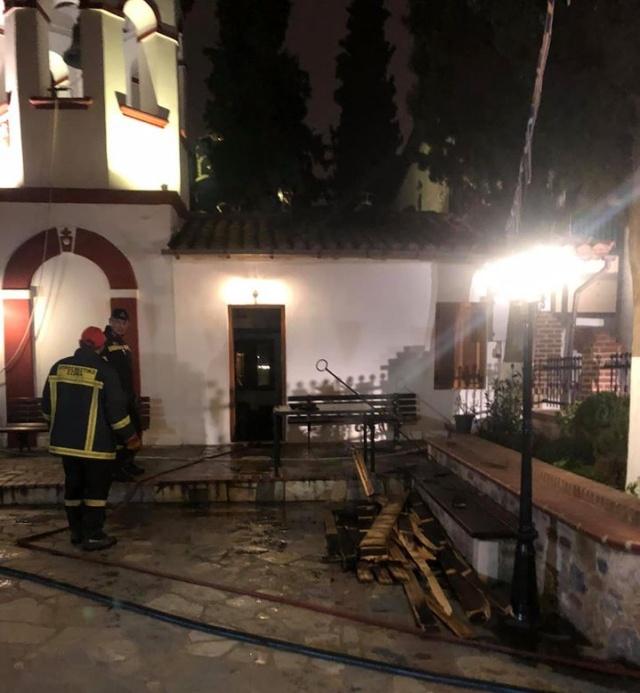 Πυρκαγιά σε Ιερό Ναό στην Αχαΐα