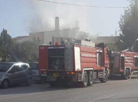 Πυρκαγιά σε μονοκατοικία στο Πανόραμα Θεσσαλονίκης