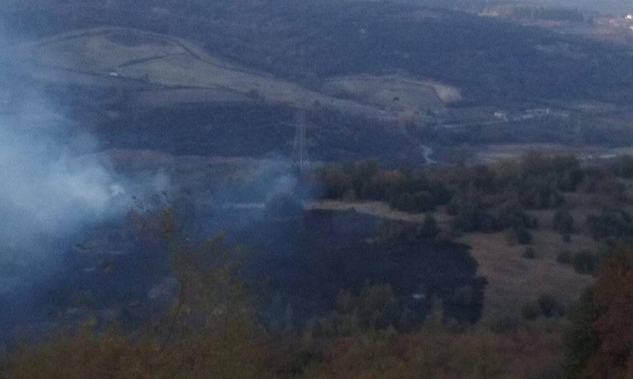 Πυρκαγιά σε χορτολιβαδική έκταση στην Μελίκη Ημαθίας