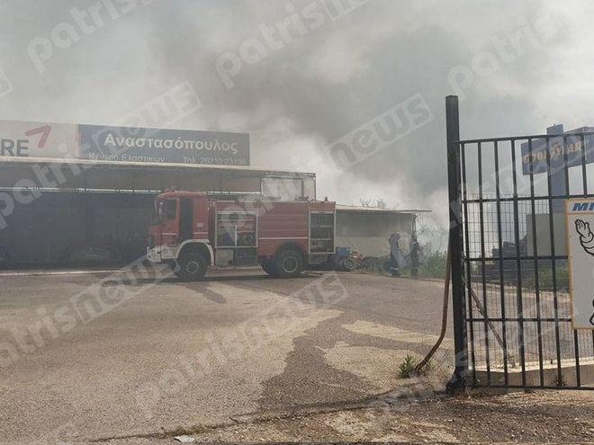 Μεγάλη πυρκαγιά ΤΩΡΑ στον Πύργο Ηλείας (Φώτο)