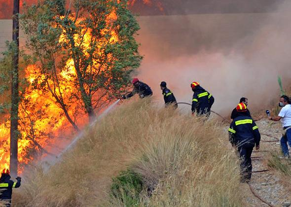 17 Δασικές πυρκαγιές το τελευταίο 24ωρο