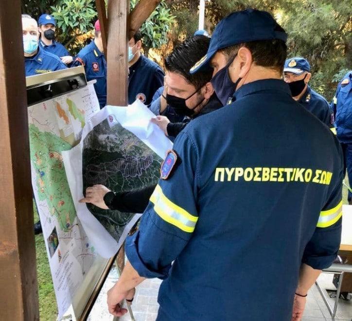 Νίκος Χαρδαλιάς: «Από Δευτέρα ξεκινούν οι καθαρισμοί αντιπυρικής θωράκισης στο δάσος του Σέιχ Σου»