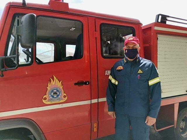 Πώς είναι να είσαι πυροσβέστης στον 9ο πυροσβεστικό σταθμό Αθηνών
