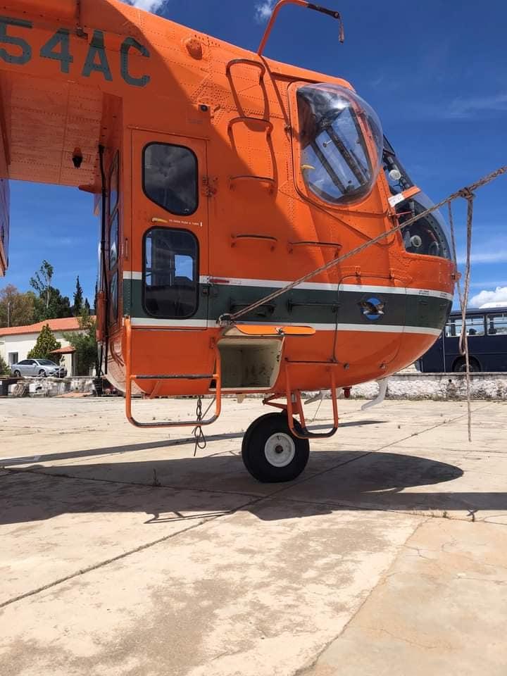 Στην Ελλάδα τα 10 ελικόπτερα Erickson S-64 Air Crane (Φώτο)