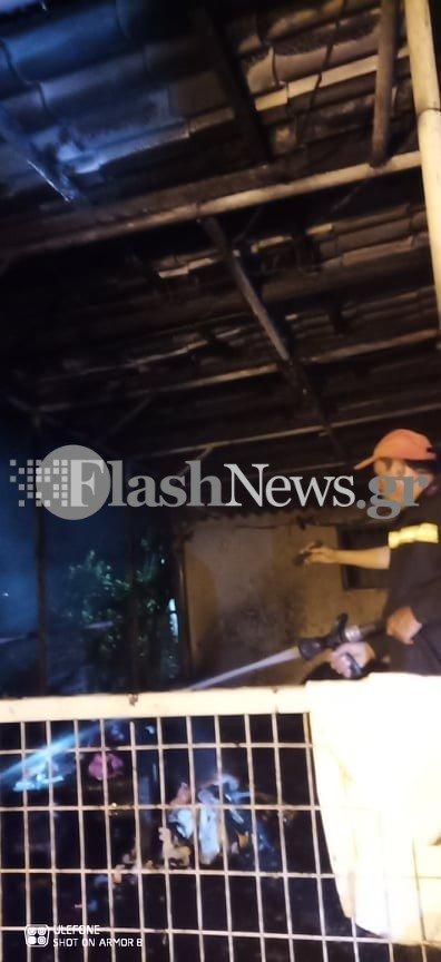Κρητη-Πυρκαγιά σε οικία στον Αποκόρωνα - Κινδύνευσε οικογένεια (φωτο)