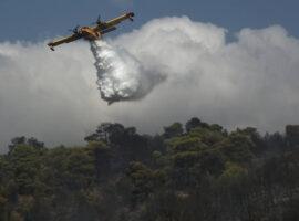 Πυρκαγιά ΤΩΡΑ σε χαμηλή βλάστηση στις Σέρρες