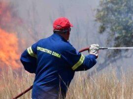 Πυρκαγιά ΤΩΡΑ εν υπαίθρω στην Ραφήνα Αττικής