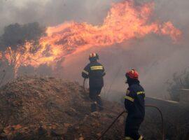 36 Δασικές πυρκαγιές το τελευταίο 24ωρο
