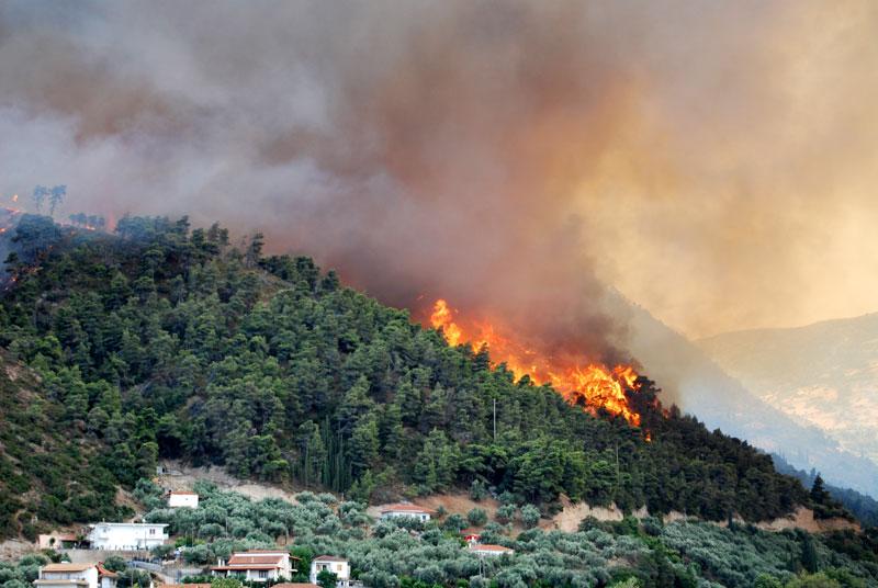 Greece Forest Fire June 18 2007