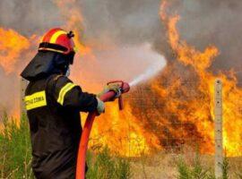 Πυρκαγιά σε χορτολιβαδική έκταση στον Άγιος Στέφανος Αιτωλοακαρνανίας