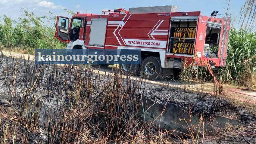 Αγρίνιο-Τρεις εστίες φωτιάς ταυτόχρονα.(φωτο)