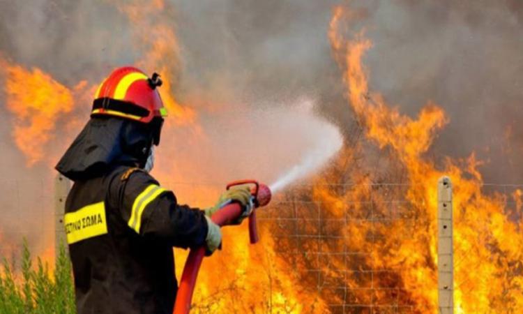 Πυρκαγιά ΤΩΡΑ εν υπαίθρω στον Ρέντη Αττικής