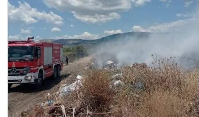 Μεσολόγγι:Τραυματισμός Πυροσβέστη στην πυρκαγιά στο Κτήμα Πετούνη