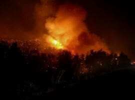 Δασική πυρκαγιά ΤΩΡΑ στην Ευρυτανία