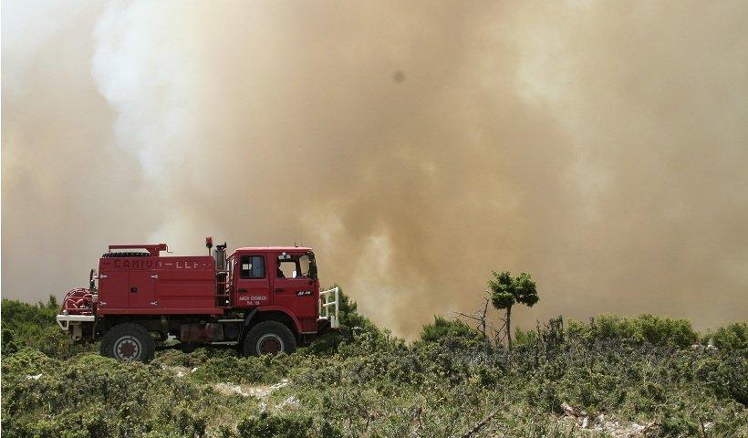 Πυρκαγιά σε Γεωργική έκταση στο Τραγανό Ηλείας