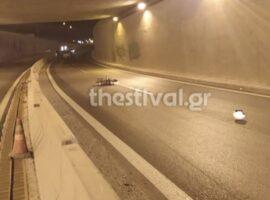 Θεσσαλονίκη: Νεκρός μοτοσικλετιστής που ήταν στο αντίθετο ρεύμα
