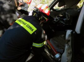 Τραγωδία στην Τριφυλία – Πυροσβέστηςέχασε τη ζωή του, έπειτα απο τραυματισμό εν ώρα υπηρεσίας