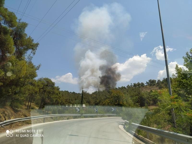 Μεγάλη πυρκαγιά ΤΩΡΑ στο Σέιχ Σου