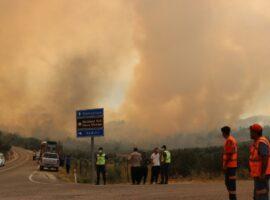 Μαίνονται οι πυρκαγιές στην Τουρκία – Δύο νεκροί πυροσβέστες
