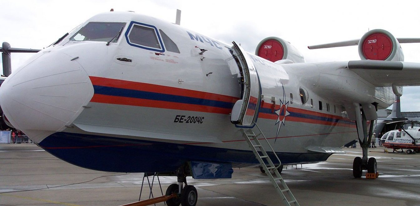 Beriev-200: Στο «οπλοστάσιο» της πυροσβεστικής το ρωσικό αμφίβιο αεροσκάφος