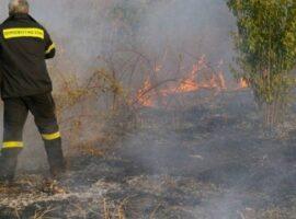 Πυρκαγιά εν υπαίθρω στην Αργυρούπολη Αττικής