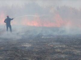 Πυρκαγιά σε χορτολιβαδικη έκταση στην Γαλατά Ναυπακτίας κοντά σε σπίτια (Φωτο & Βίντεο)