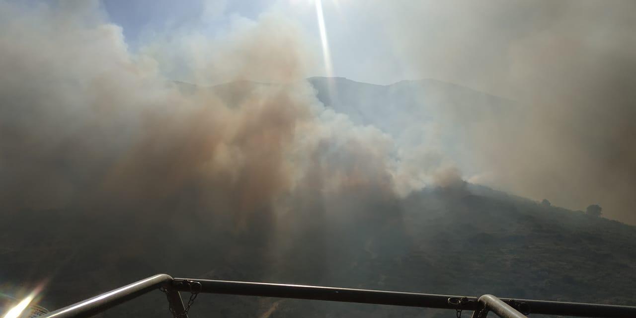 Πυρκαγιά στην Κεφαλονιά: «Ξεκίνησε από βοσκό» - Οι καιρικές συνθήκες ευνοούν την πυρκαγιά