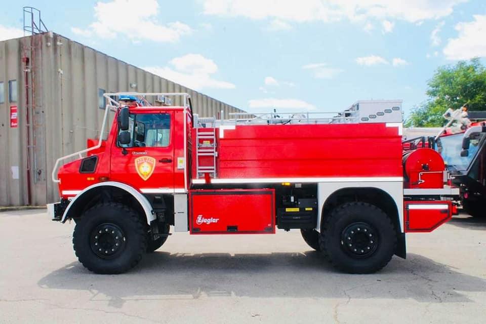 Unimog 5000U - Το ιδανικό όχημα για δασικές πυρκαγιές