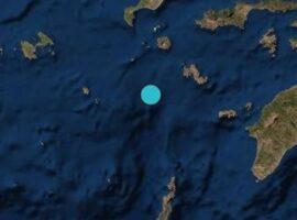 Ισχυρός σεισμός 4,7 Ρίχτερ στα ανοιχτά της Τήλου