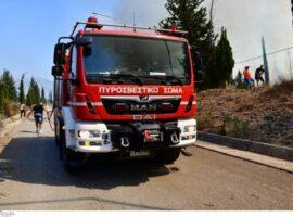 Και δεύτερος πυροσβέστης αισθάνθηκε αδιαθεσία – Κλήθηκε το ΕΚΑΒ