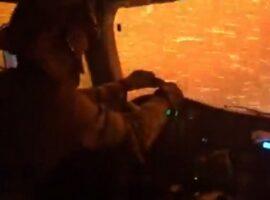 Καλιφόρνια: Η στιγμή που οδηγός περνά μέσα από κόλαση φωτιάς (Βίντεο)
