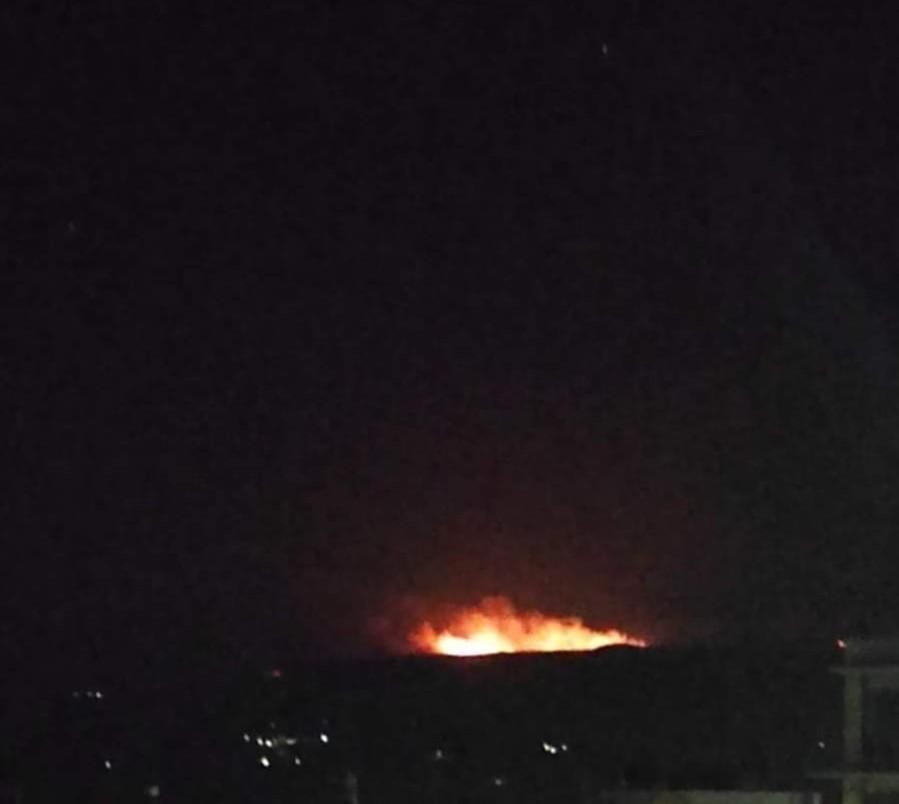 Μεγάλη πυρκαγιά ΤΩΡΑ στην Σητεία Κρήτης (Φώτο)