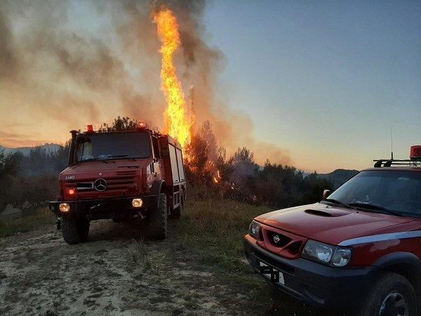 49 δασικές πυρκαγιές εκδηλώθηκαν το τελευταίο 24ωρο