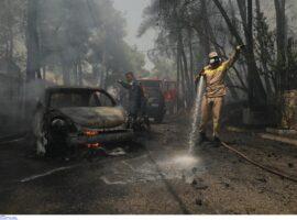 Πυρκαγιά στην Σταμάτα: Σε ετοιμότητα ΕΚΑΒ και υγειονομικές δομές