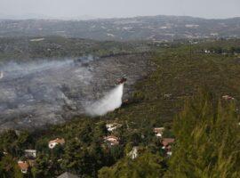 40 Δασικές πυρκαγιές εκδηλώθηκαν το τελευταίο 24ωρο