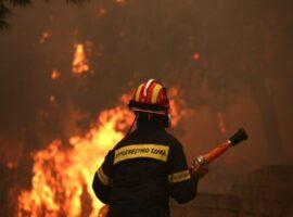 50 Δασικές πυρκαγιές εκδηλώθηκαν το τελευταίο 24ωρο